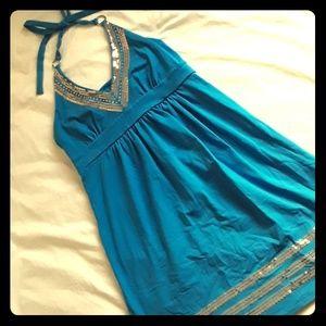 💙V.S. Bra Tops Sequin Dress sz MEDIUM💙